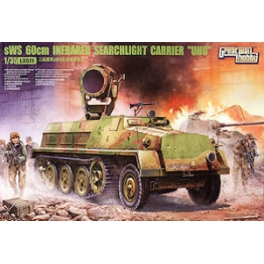 "L3511 1/35 German sWS 60cm Infrared Searchlight Carrier ""UHU""0000"