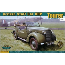 72501 1/72 British Staff Car 8HP Tourer