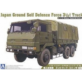 002322	1/72 JAPAN GROUND SELF DEFENSE FORCE 3 1/2T TRUCK