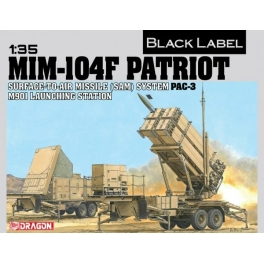 3563 1/35 SURFACE-TO-AIR MISSILE (SAM) SYSTEM PAC-3 M901 LAUNCHING STATION MIM-104F PATRIOT