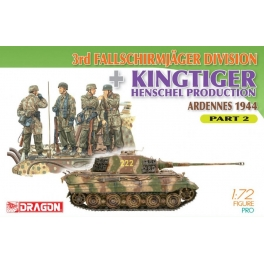 7362 1/72 3rd Fallschirmjager Division + Kingtiger Henschel Production Part 2