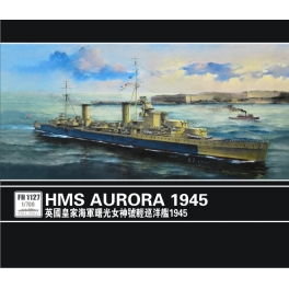 FH 1127 1/700 Light Cruiser HMS Aurora 1945