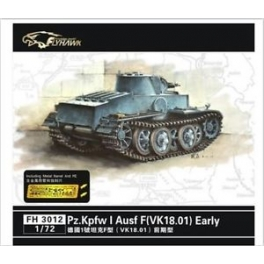 FH 3012 	1/72 PZ.KpfwI  Ausf F(VK18.01)Early