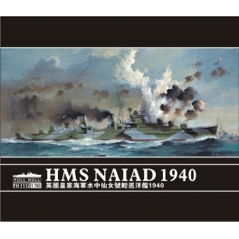 FH 1112  1/700 HMS Naiad Light Cruiser