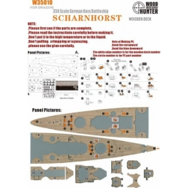 W 35010 	1/350 WWII German Battlecruiser Scharnhorst