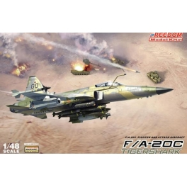 18004 1/48 FA-20A/C TIGER SHARK / AG WEAPONS