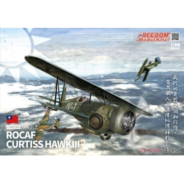 18009 1/48 Curtiss Hawk III (Model 68) (ROC Airforce / Argentinean Airforce, 1938-1939. / Royal Siam