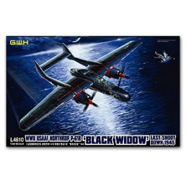 S4802 	1/48 WWII US AAF Northrop P-61B Last Shoot Down 1945 Limited