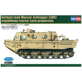 82918 Fvab, German Land-Wasser-Schlepper (LWS) amphibious tractor Early production(Hobby Boss) 1/72