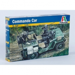 320 1/35 Willys Jeep Commando Car