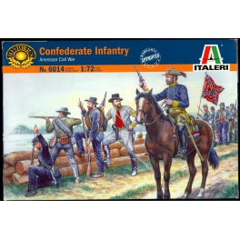 6014 Солдатики Confederate Troops (American Civil War), , шт