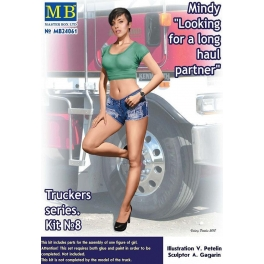 """MB24061 Truckers series. """"Looking for a long haul partner"""", Mindy"""