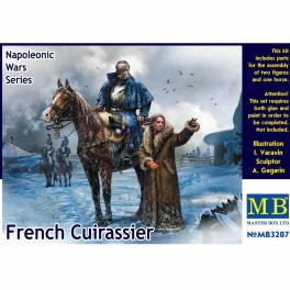 MB3207 French Cuirrassier, Napoleonic Wars Series 1\32
