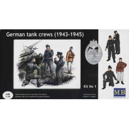 3507 1/35 German tank crews, 1943-1945 Kit #1