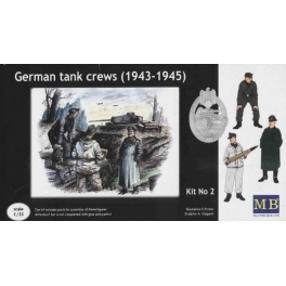 3508 1/35 German tank crews, 1943-1945. Kit #2