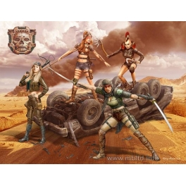 35122 1/35  Desert Battle Series, Skull Clan - Death Angels