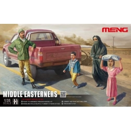 HS-001	1/35 Middle Easteners in the street