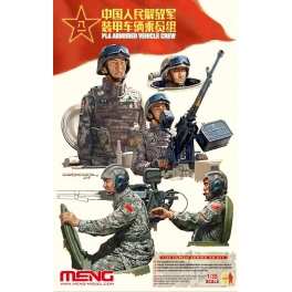 HS-011 1/35 PLA Armored Vehicle Crew