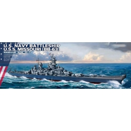 PS-004 1/700 U.S. Navy Battleship Missouri (BB-63)