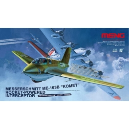 QS-001 1/32 Messerschmitt Me163B Komet Rocket-Powered Interceptor