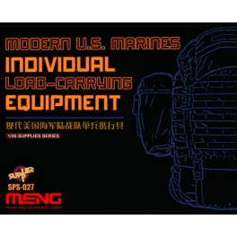 SPS-027 1/35 MODERN U.S. MARINES INDIVIDUAL LOAD-CARRYING EQUIPMENT (RESIN)