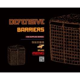 SPS-032 1/35 DEFENSIVE BARRIERS (RESIN)