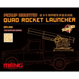 SPS-040	1/35 PICKUP MOUNTED QUAD ROCKET LAUNCHER