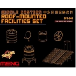 SPS-046 1/35 Roof-Mounted Facilities Set