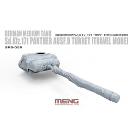 SPS-059 1/35 German Medium Tank Sd.Kfz.171 Parther Ausf.D Turret