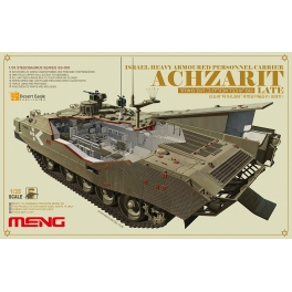 SS-008	1/35 ISRAEL HEAVY ARMOURED PERSONNEL CARRIER ACHZARIT LATE   (Полный интерьер)