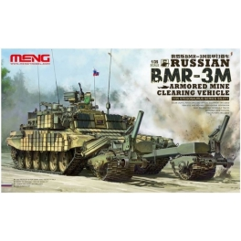 SS-011 1/35 Russian BMR-3M Armored Mine Clearing Vehicle plastic model kit