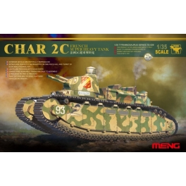 TS-009 1/35 French Super Heavy Tank Char 2C kit.