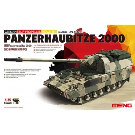 TS-019	1/35  GERMAN PANZERHAUBITZE 2000 SELF-PROPELLED HOWITZER w/ADD-ON ARMOR