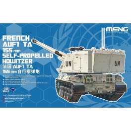 TS-024 1/35 FRENCH AUF1 TA 155mm SELF-PROPELLED HOWITZER