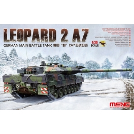 TS-027	1/35 GERMAN MAIN BATTLE TANK LEOPARD 2 A7