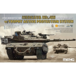 TS-036  1/35 Israel Main Battle Tank Merkava Mk.4m W/Trophy Active