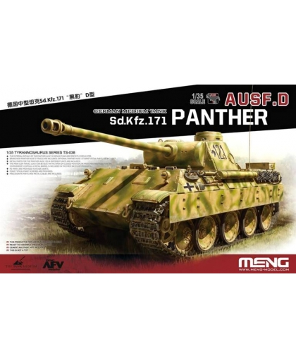 TS-038 1/35 Sd.Kfz.171 Panther ausf. D