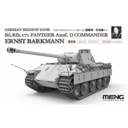 ES-003 1/35 German Medium Tank Sd.Kfz.171 Panther Ausf.D