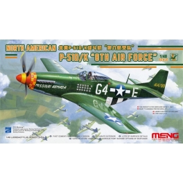 LS-010 1/48 North American P-51D/K `8th Air Force