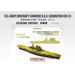 ES-007 1/700 U.S. Navy Aircraft Carrier U.S.S. Lexington (Cv-2) Extreme Edition
