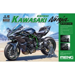 MT-001s 1/9 Kawasaki Ninja H2R (Pre-colored Edition)