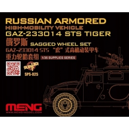 "SPS-025 Russian 233014 STS ""Tiger"" Sagged wheel set"