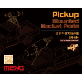 SPS-034 1/35 MENG Pickup Mounted Rocket Pods