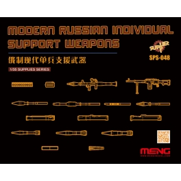 SPS-048 MENG Modern Russian Individual Support Weapons resin kit