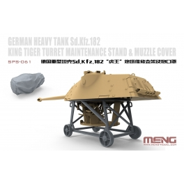 SPS-061 King Tiger Turret Maintance Stand & Muzzle Cover