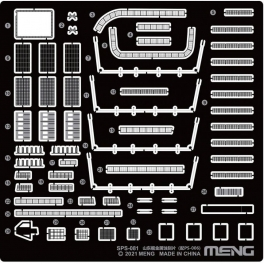 SPS-081 NEW 1/700 PLA Navy Shandong Pe Parts (For PS-006)