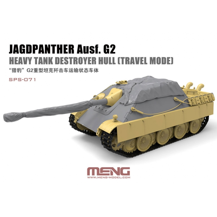 SPS-071 1/35 Jagdpanther Ausf. G2 Heavy Tank Destroyer Hull
