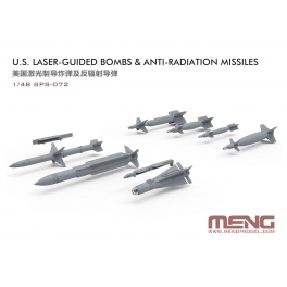SPS-072 U.S. Laser-Guided Bombs & Anti-Radiation Missiles 1\48