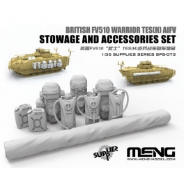 SPS-073 1/35 British FV510 Warrior TES(H) AIFV Stowage And Accessories Set (Resin)