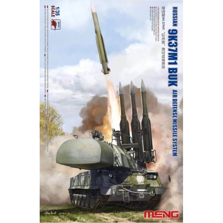 SS-014 1/35 Meng Russian 9K37M1 BUK Air Defense Missile